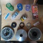 Custom Kit Malossi 14.2º by Moto Rider® - TMAX500/530/560 & AK550 & TL465/508